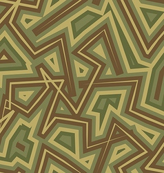 Abstract Geometric Military camouflage background vector image