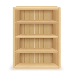 Bookshelf 01 vector
