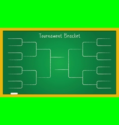 bracketology vector image
