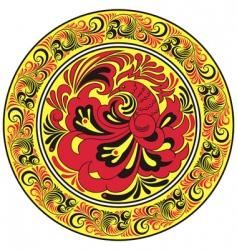 circular pattern vector image
