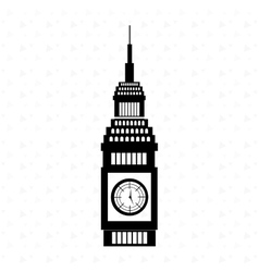 city of London design vector image