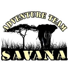 Savana vector