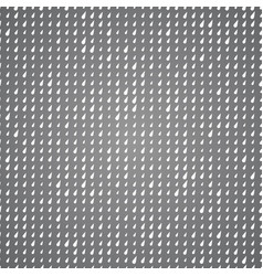 Seamless pattern white drops on gray background vector