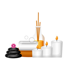 Spa treatment therapy vector