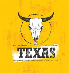 Texas pride rough grunge vector