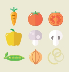 Veg set I vector