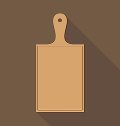 Wooden Chopping Board vector