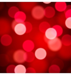 Defocused abstract red background vector image vector image