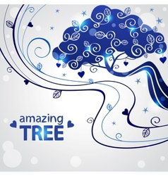 tree abstraction vector image