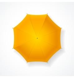 Yellow Umbrella vector image vector image