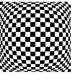3d bulging convex globular protuberant distortion vector