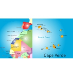 Cape Verde vector image vector image