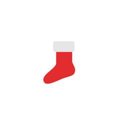 christmas atribute logo vector image