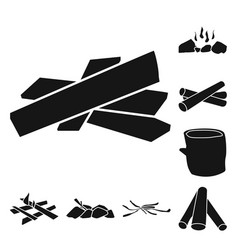 Design rough and forestry icon vector