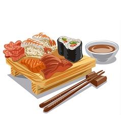 Japan sea food vector