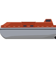 Life boat vector image