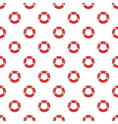 Lifeline pattern cartoon style vector image