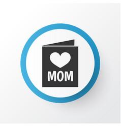Post card icon symbol premium quality isolated vector