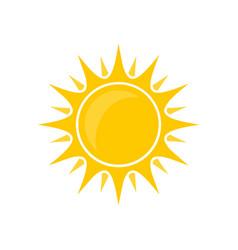 Sun bright vector