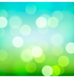 Bright colorful blurred natural background vector image vector image