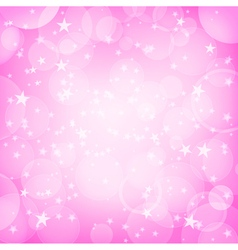 shining pink background vector image vector image