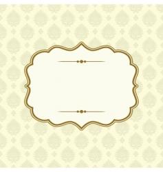 Victorian pattern vector image vector image