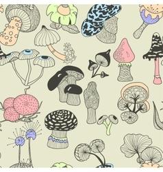 mushrooms2 vector image
