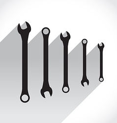Spanners vector image vector image