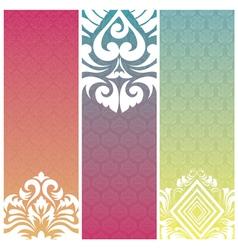 banner pattern vector image