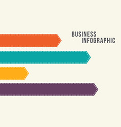 Business infographic concept style vector