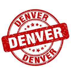 Denver stamp vector
