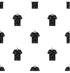 Dirty things dry cleaning single icon in black vector