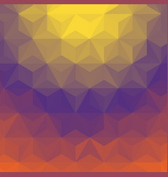 gradient triangle background vector image