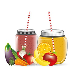 Smoothie product vector