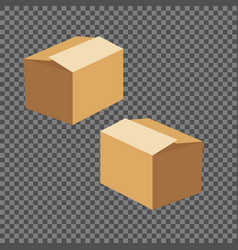 square box templates set vector image