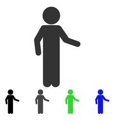 Child invitation flat icon vector