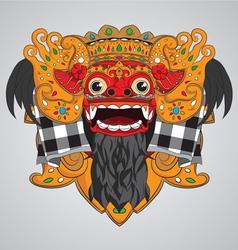 barong-mask vector image vector image