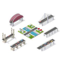 Bridges in the field of industrial vector