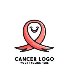 Cancer logo design concept modern vector