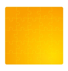 gradient gold field of puzzles vector image