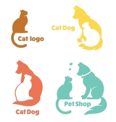 My favorite pet collection of animals vector image