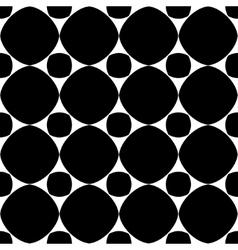 Polka dot geometric seamless pattern 2303 vector image