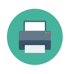 Printingpress vector