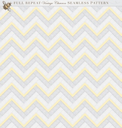 Vintage Full Repeat Seamless Chevron Pattern vector image