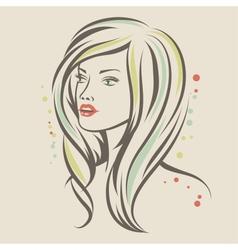 Beautiful Fashion Girl vector