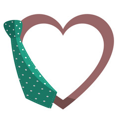 Decorative heart symbol vector