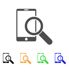 Find smartphone icon vector