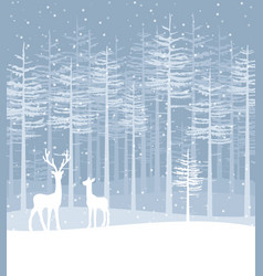 Happy christmas greeting card vector