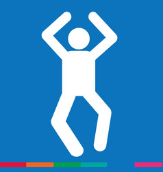 human action poses icon design vector image