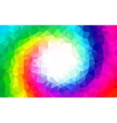 Polygonal Background for webdesign - Rainbow vector